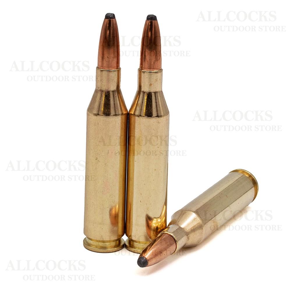 Norma .243 Ammunition - 100gr - Soft Point Brass