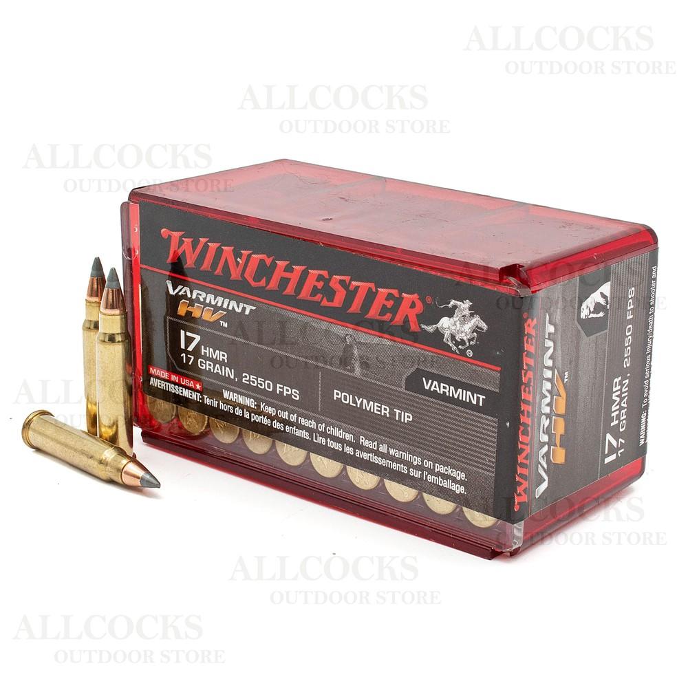 Winchester .17HMR Ammunition - 17gr - Varmint HV