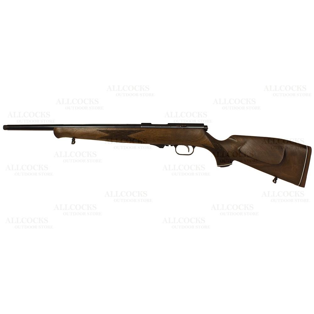 Weihrauch HW60 J Rifle - .17HMR Walnut
