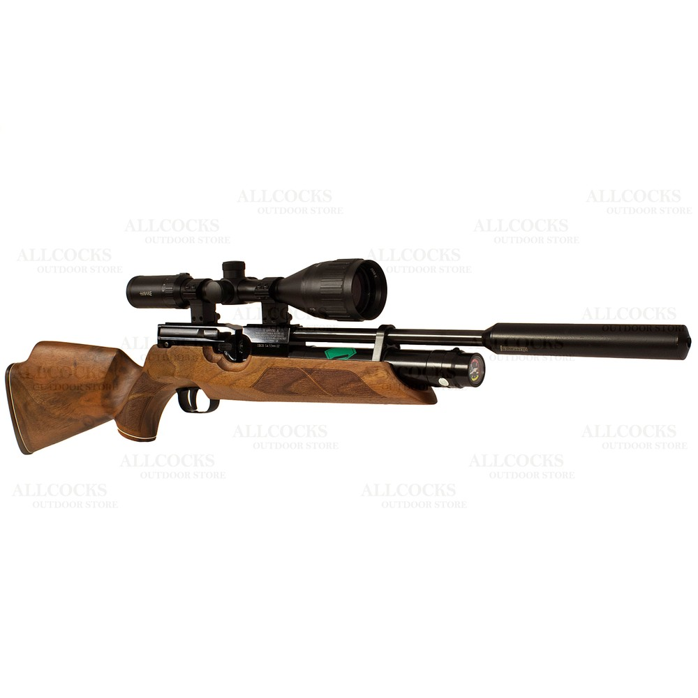 Weihrauch Pre-Owned  HW100 KS Walnut Air Rifle - .22
