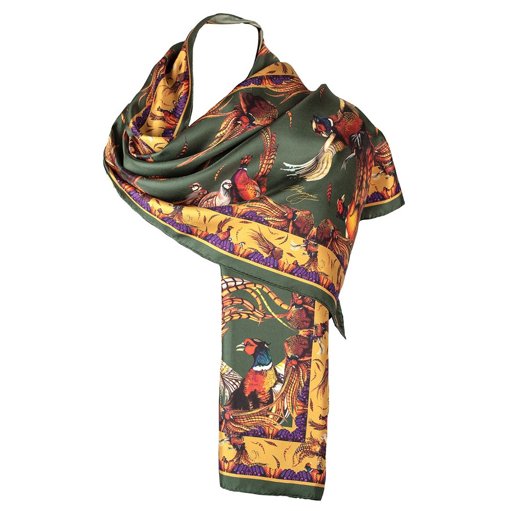 Clare Haggas George & Friends Classic Silk Scarf