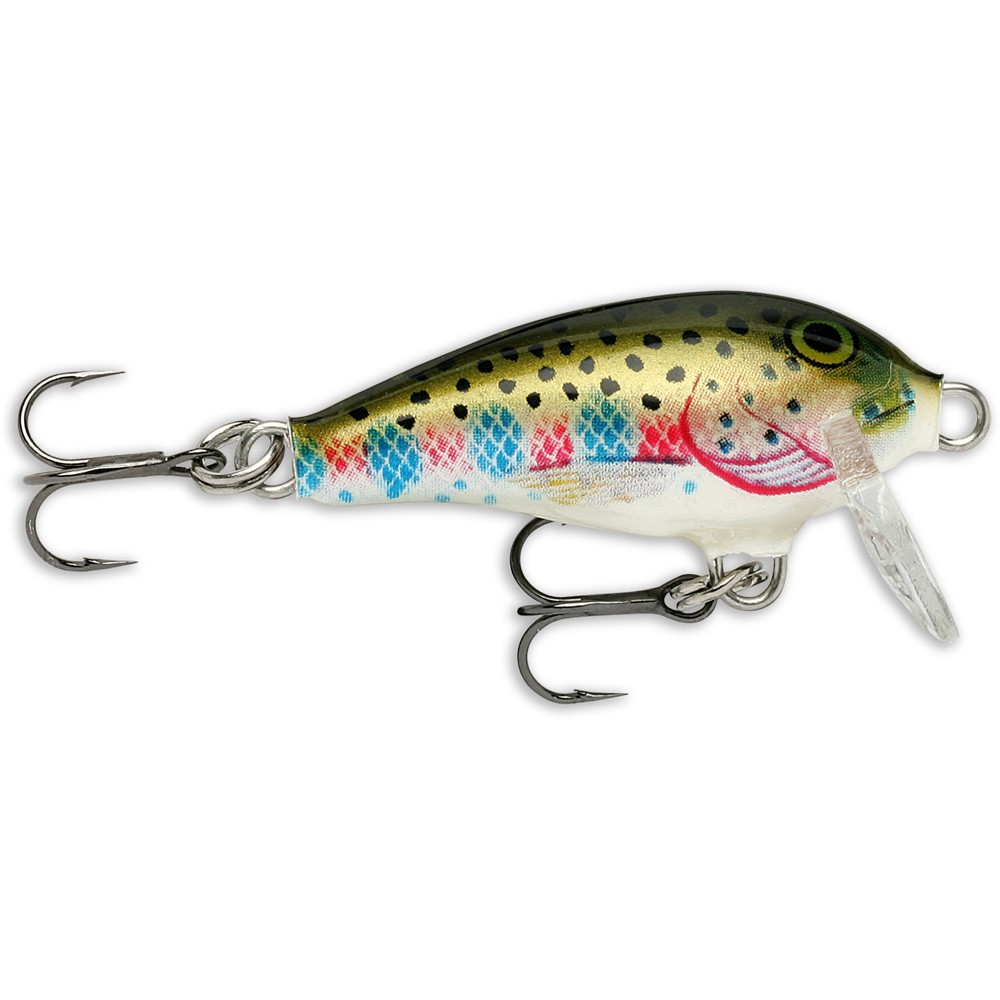 Rapala Rapala Mini Fat Rap Shad in Rainbow Trout