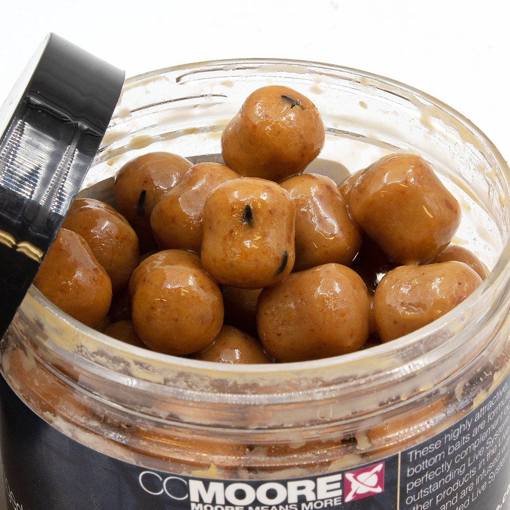 CC Moore Live System Glugged Hookbaits Brown