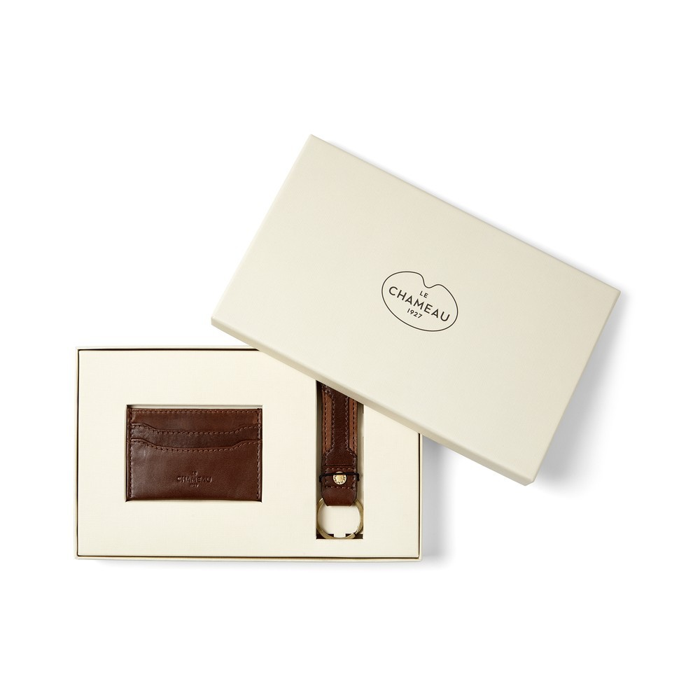 Le Chameau Le Chameau Key Ring & Card Wallet Gift Set