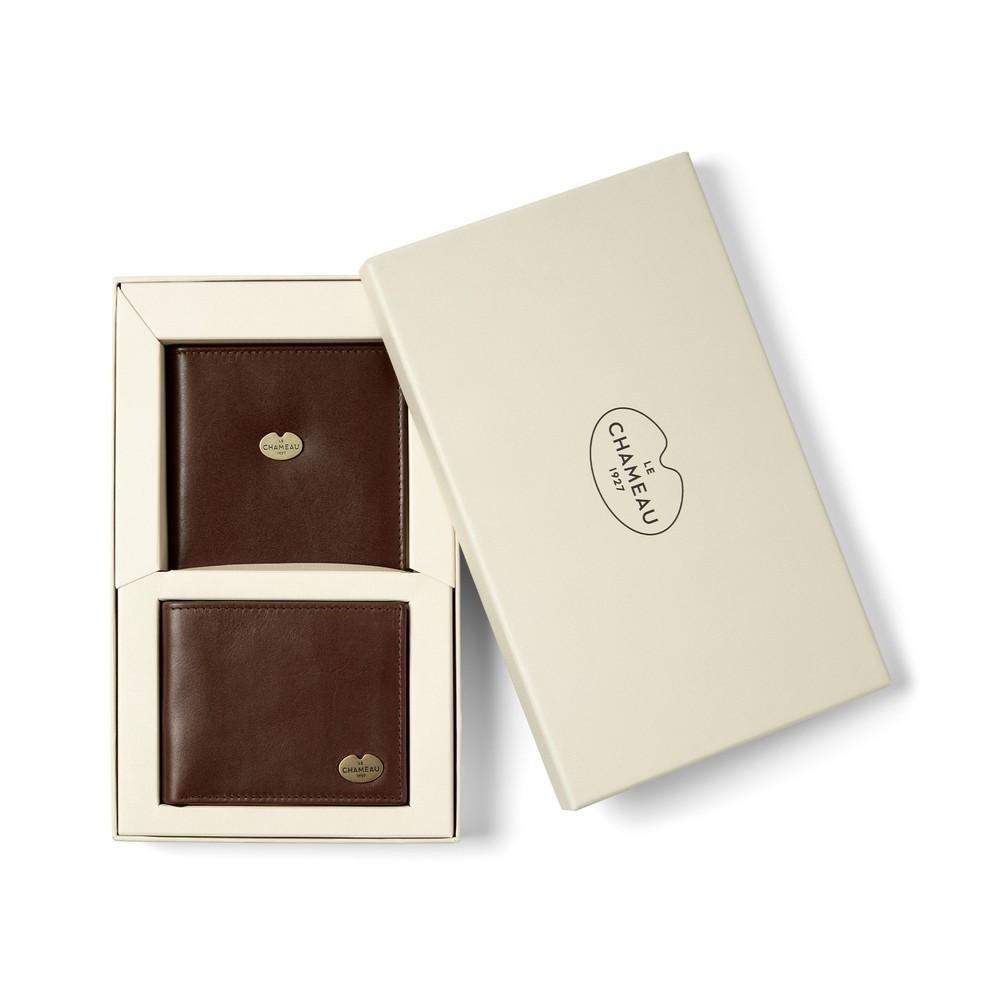 Le Chameau Le Chameau Bi-Fold Wallet & Licence Wallet Gift Set