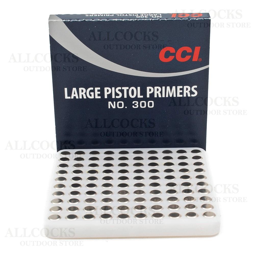CCI Primers - #300 Standard Large Pistol - Pack of 100