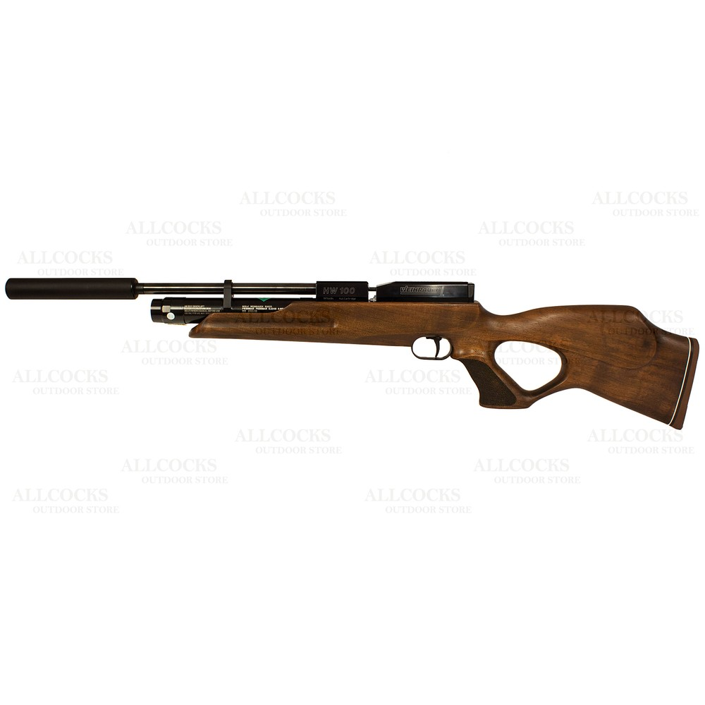 Weihrauch HW100 KT Air Rifle Walnut