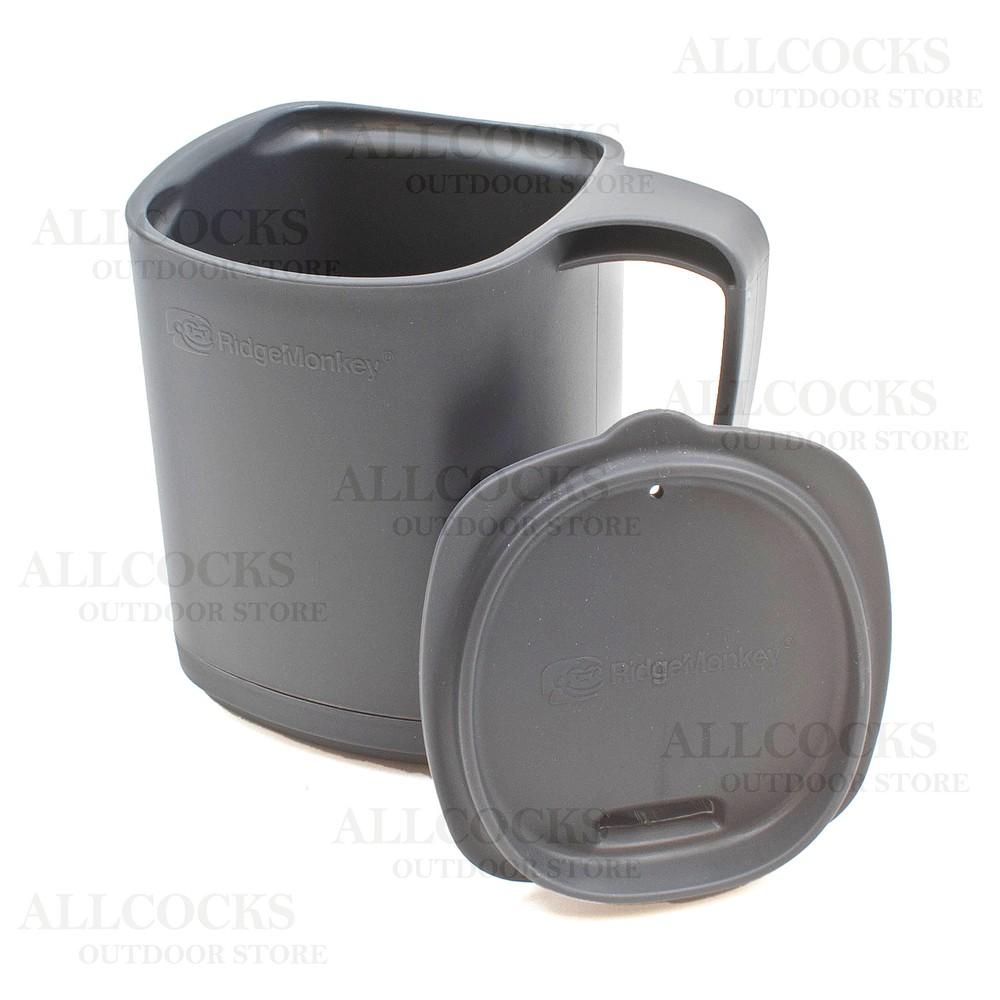 RidgeMonkey Thermo-Mug Gunmetal Grey