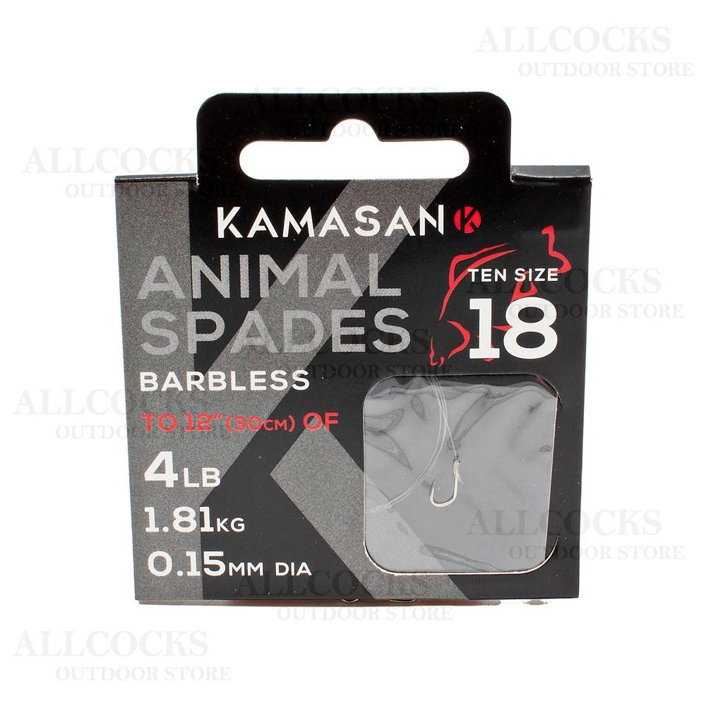 Kamasan Hook To Nylon B/Less - Heavy Stainless