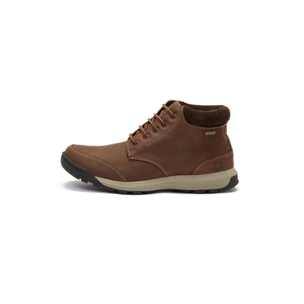 Chatham Flitwick Waterproof Ankle Boot Dark Brown
