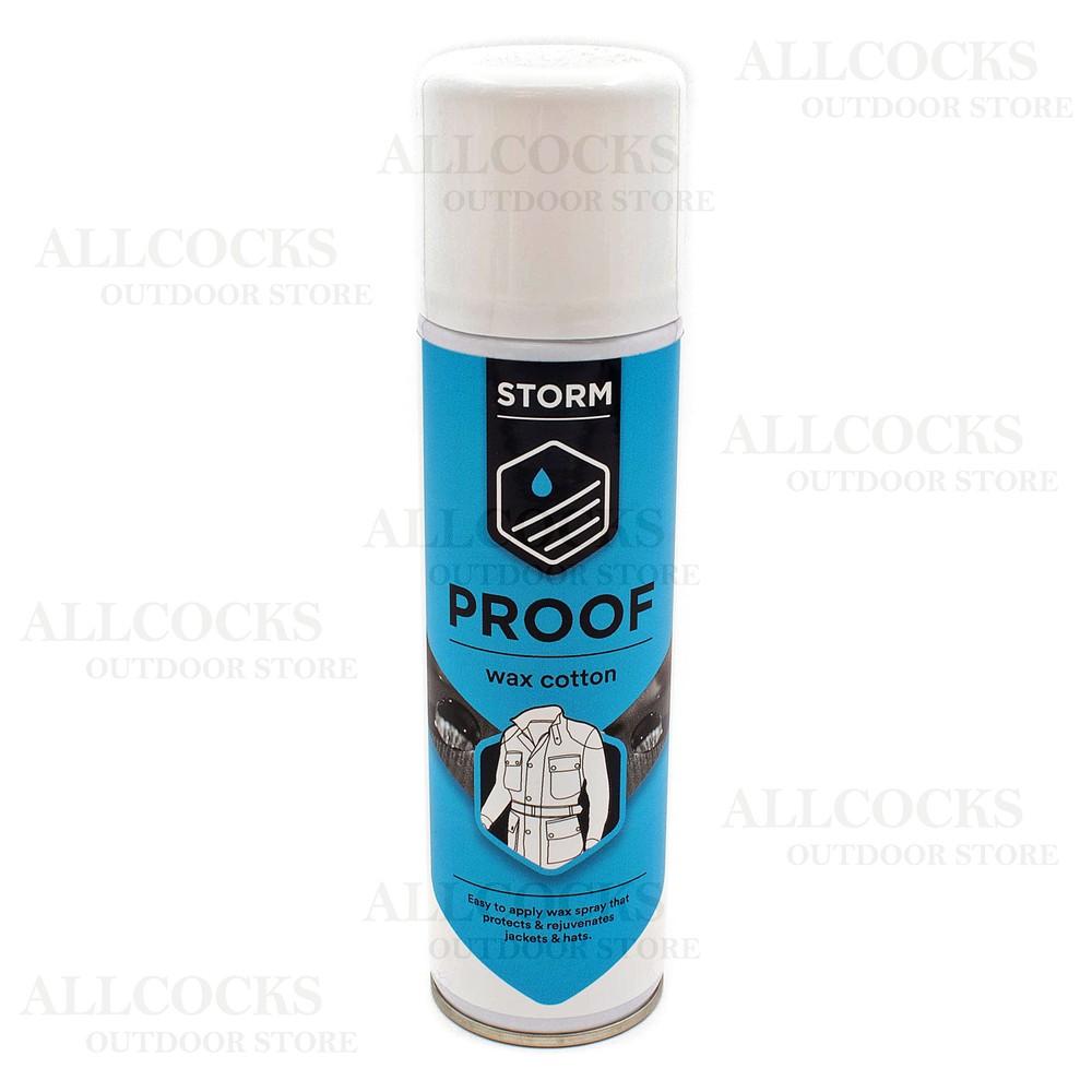 Storm Wax Cotton Dressing Spray - 250ml Clear
