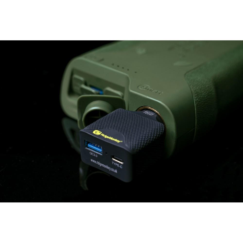 RidgeMonkey Vault C-Smart Wireless Charger Green