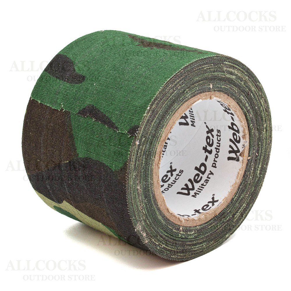 Web-Tex Fabric Camouflage Tape - 10m