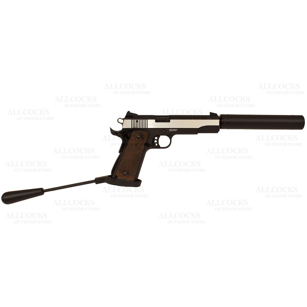 GSG 1911 Long Barrel Pistol - Wood Grips - .22LR