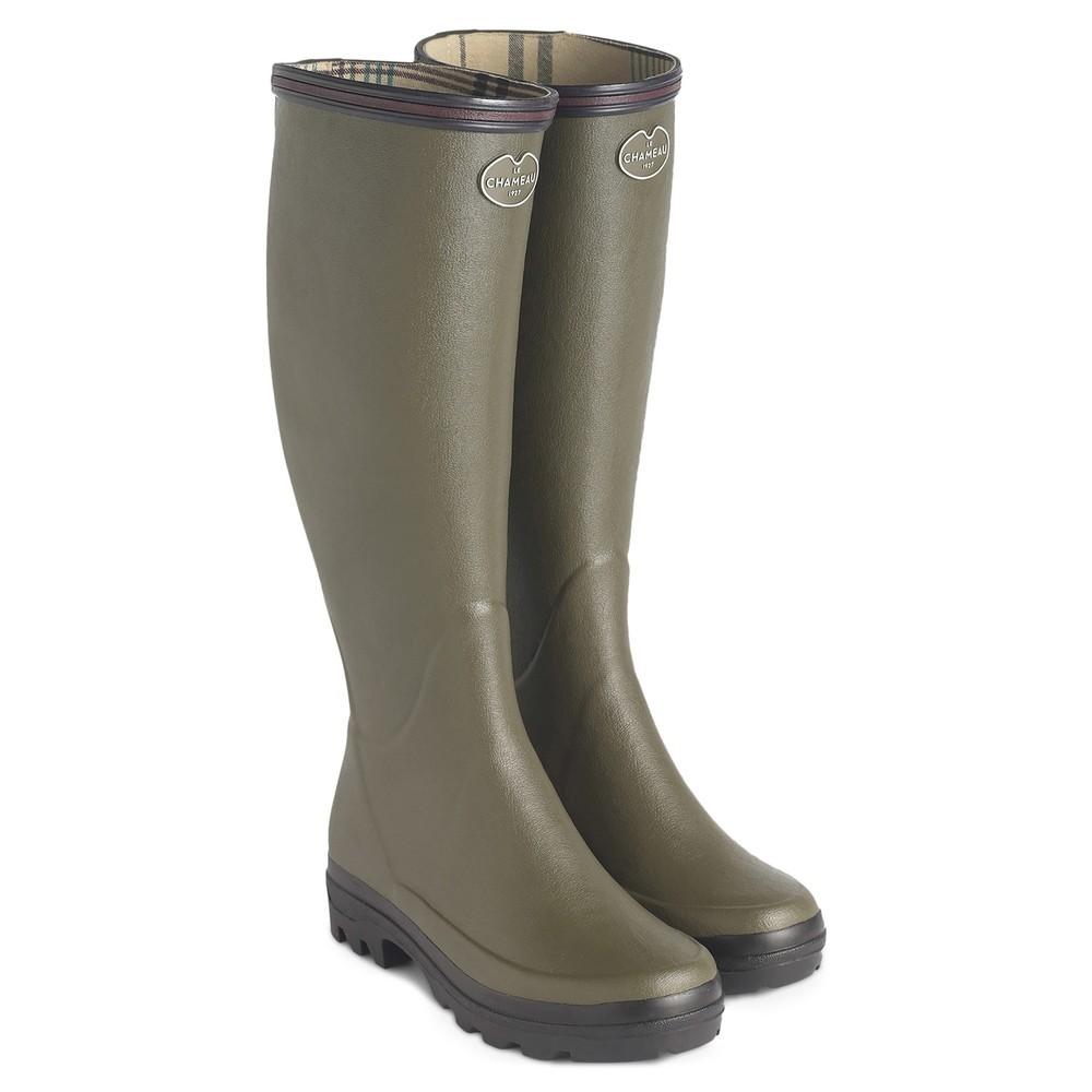 Le Chameau Le Chameau Giverny Jersey Lined Women's Wellington Boots