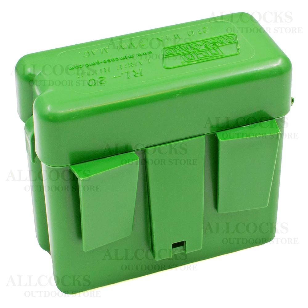 MTM Ammo Box - 21 Round - RL-20 Belt Fixed Green
