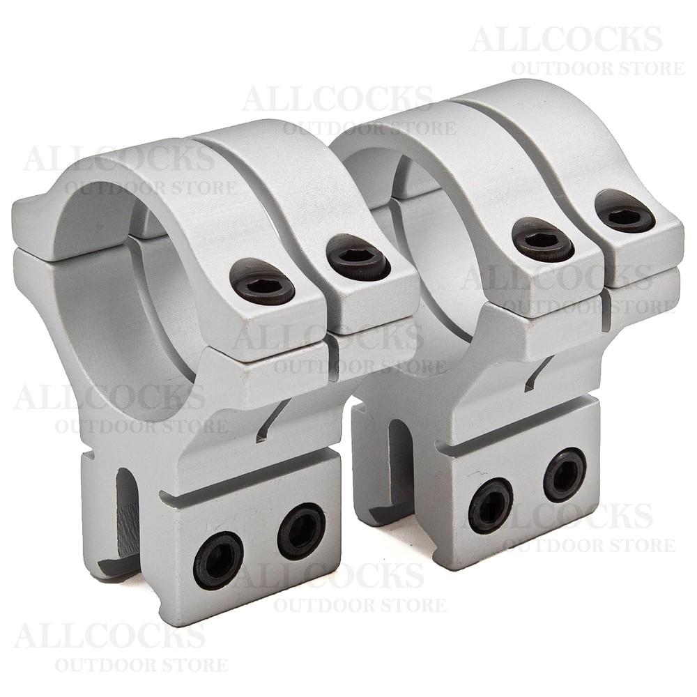 BKL Double Strap Scope Mounts - 9-11mm Dovetail - 30mm Medium