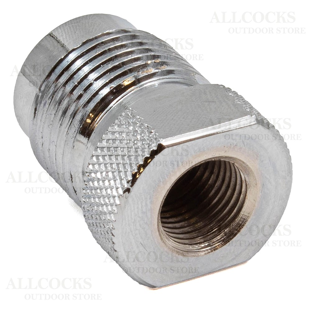 Best Fittings Cylinder to Buddy Bottle/Hose Adapter Chrome