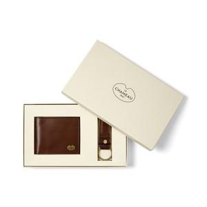 Le Chameau Le Chameau Key Ring & Bi-Fold Wallet Gift Set