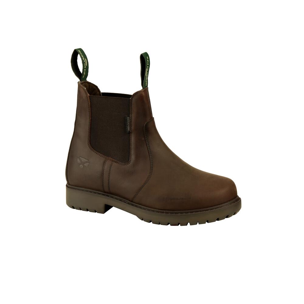 HOGGS OF FIFE Northumberland Ladies Dealer Boot Dark Brown