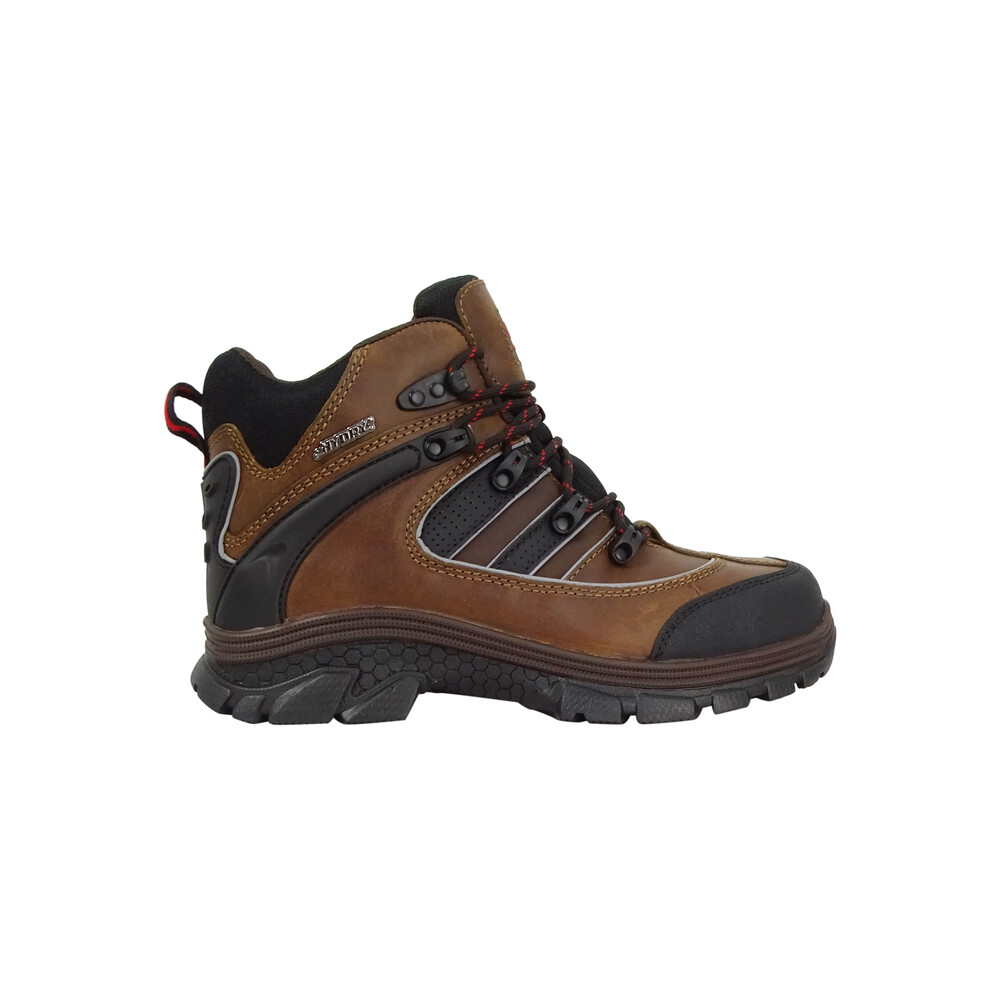 HOGGS OF FIFE Apollo Safety Hiker Boots Crazy Horse Brown