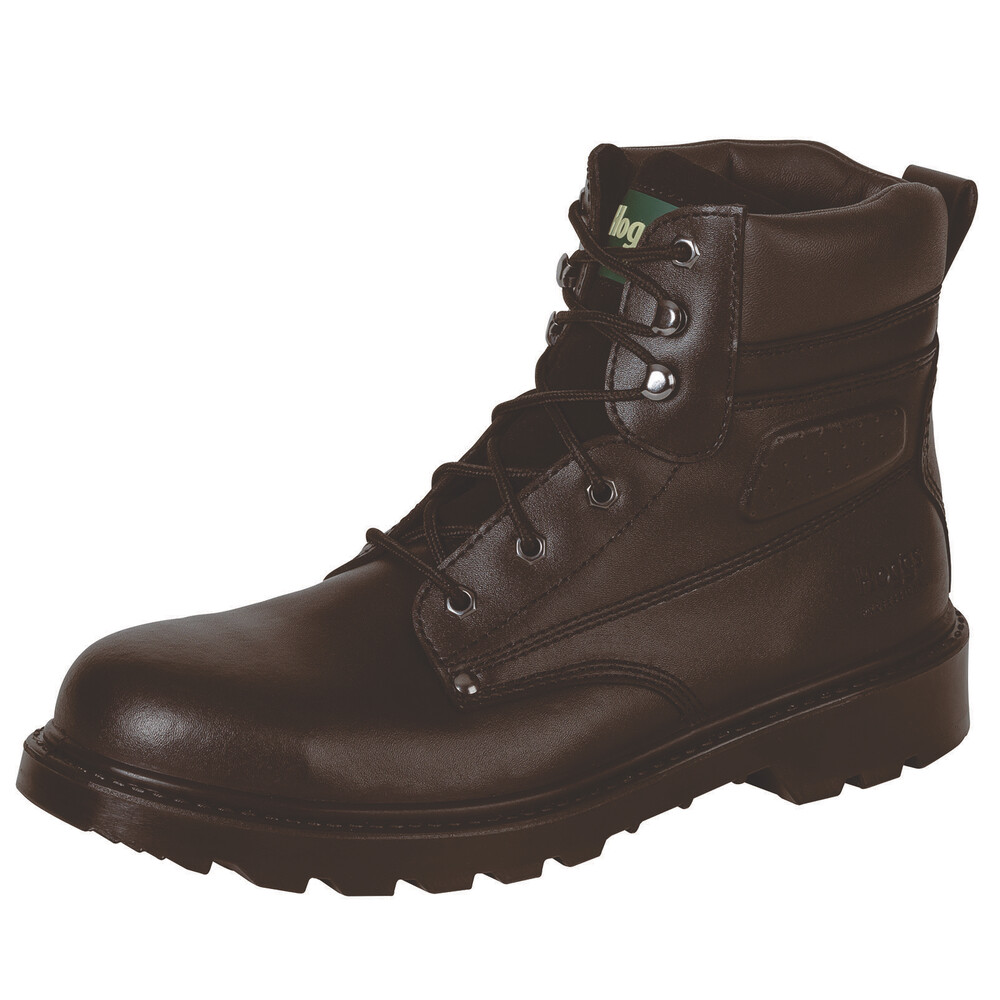 HOGGS OF FIFE Classic L5 Lace-up Boots Brown