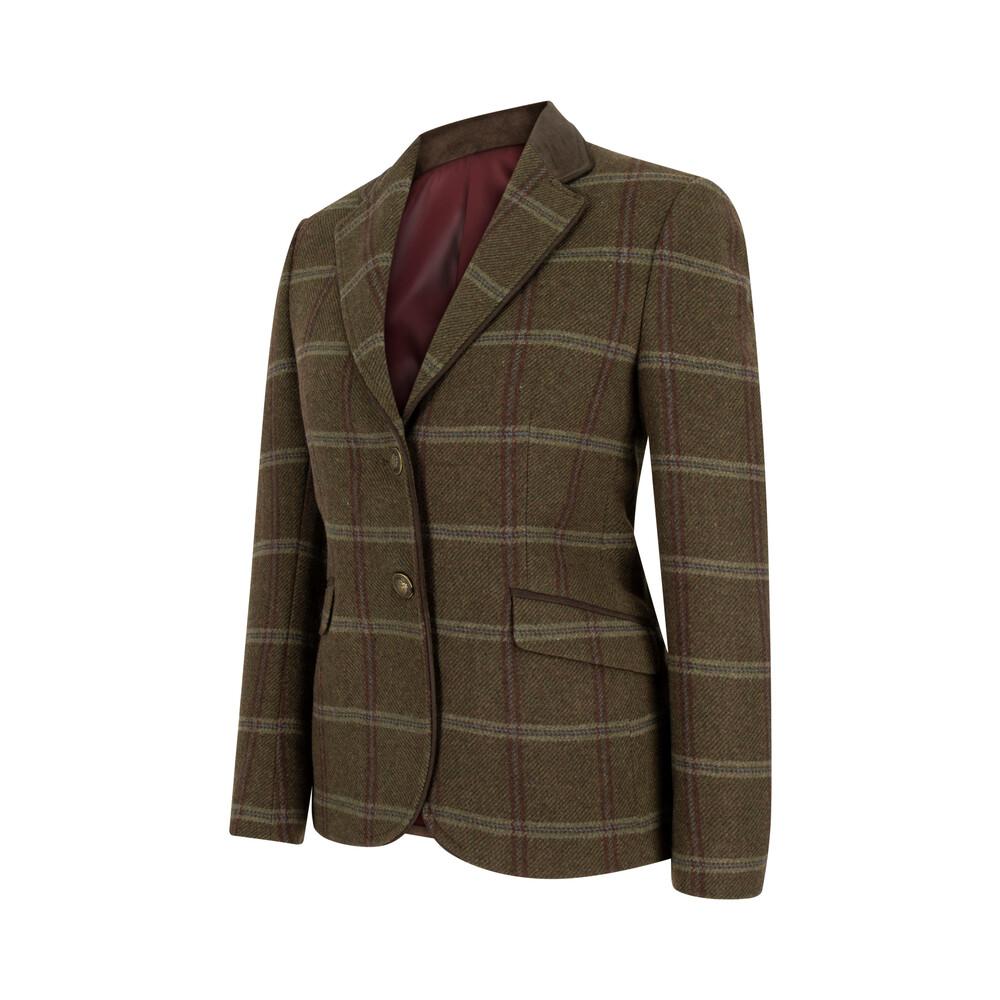 HOGGS OF FIFE Musselburgh Ladies Tweed Hacking Jacket