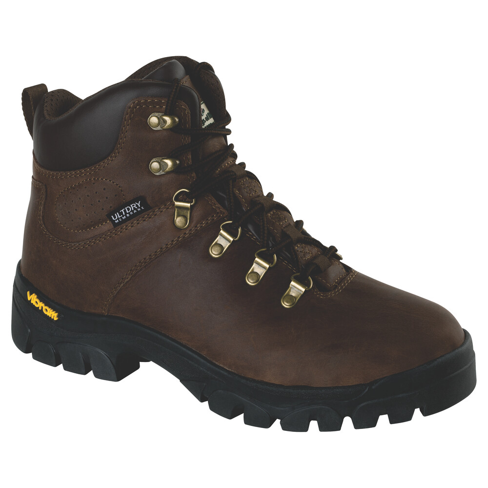 HOGGS OF FIFE Munro Classic W/P Hiking Boot Crazy Horse Brown