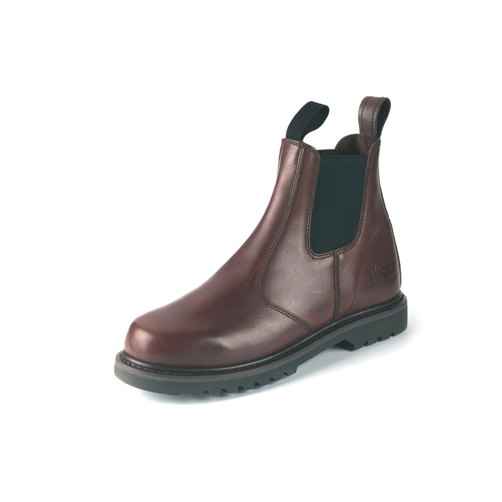 HOGGS OF FIFE Shire-NSD Dealer Boots Waxy Brown
