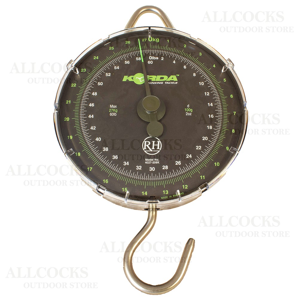 Korda Limited Edition Scales - Carpy Green