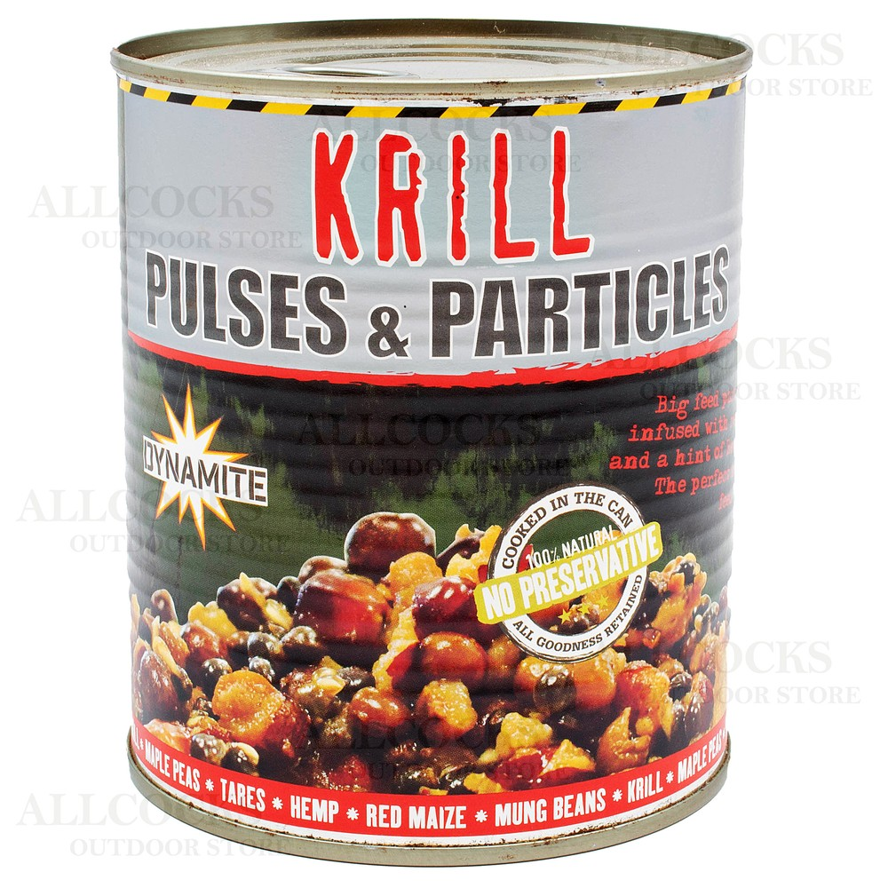 Dynamite Baits Frenzied Pulses & Particles - Krill