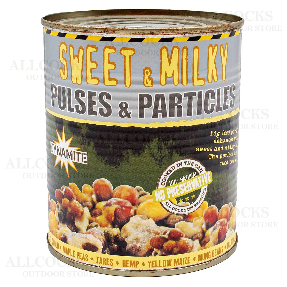Dynamite Baits Frenzied Pulses & Particles - Sweet & Milky