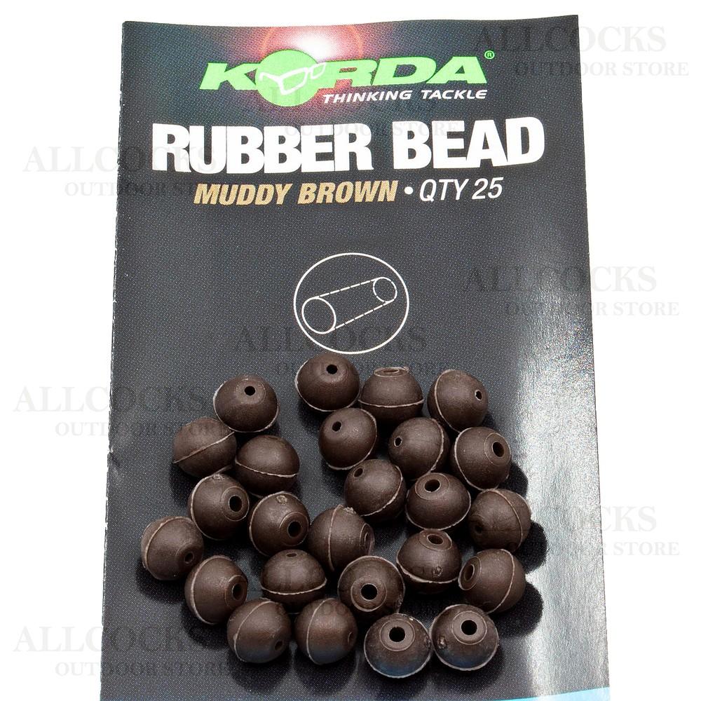 Korda Rubber Beads - 4mm