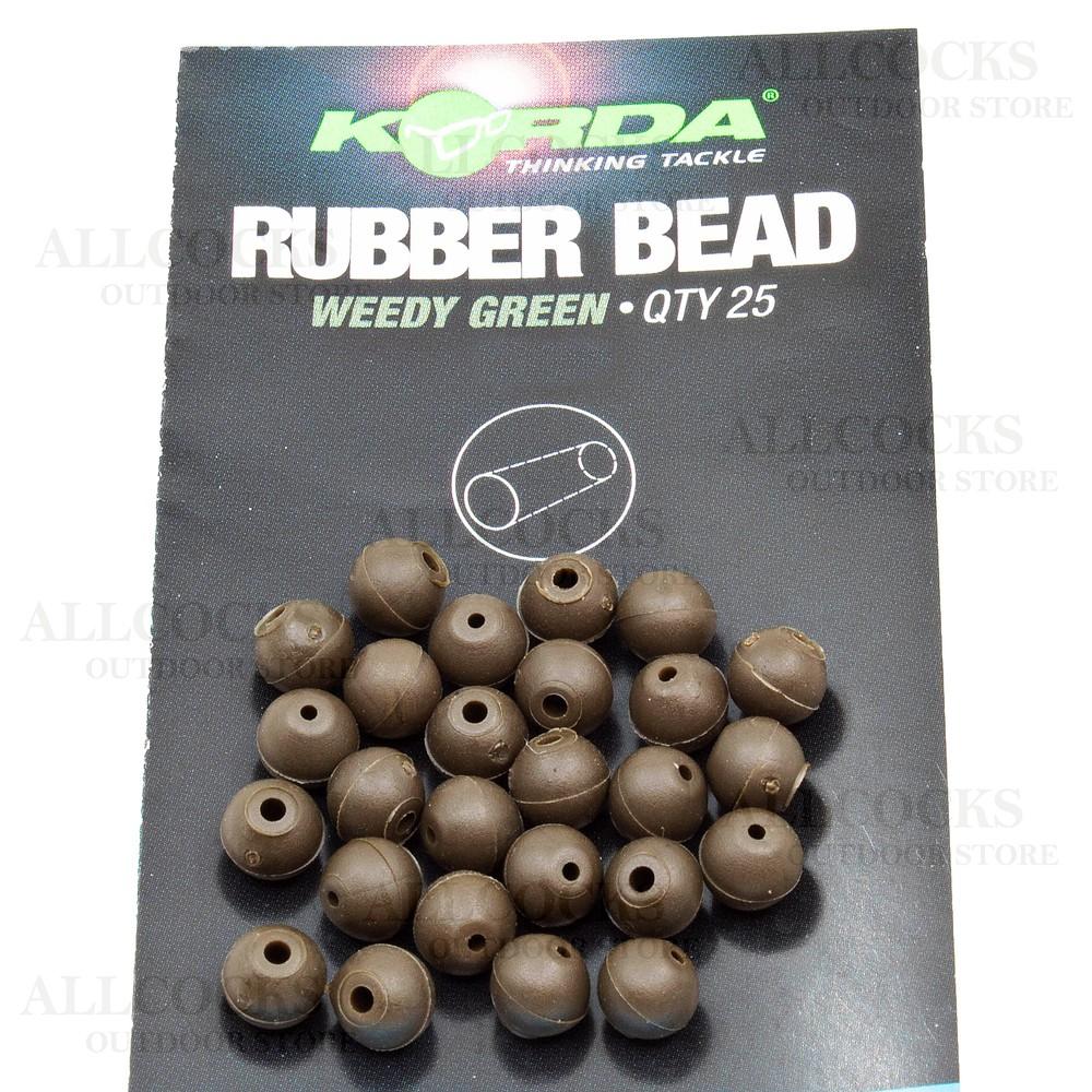 Korda Rubber Beads - 5mm