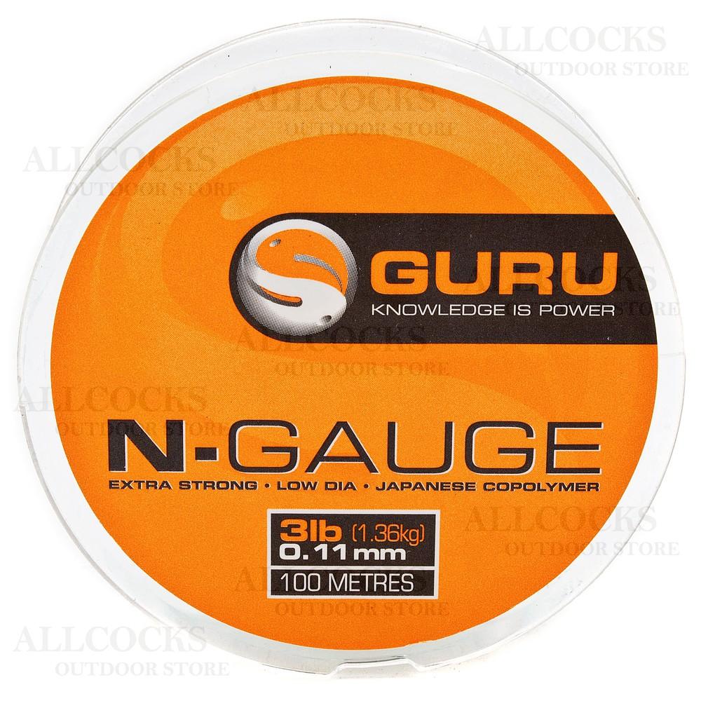 Guru N-Gauge Monofilament Line