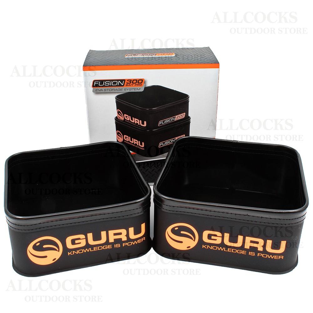 Guru Fusion 200 & 300 Bait Pro Case Combo