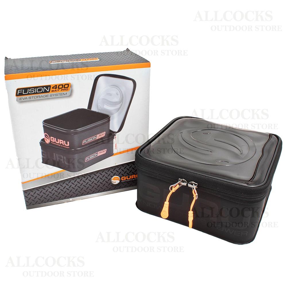 Guru Fusion 300 & 400 Bait Pro Case Combo