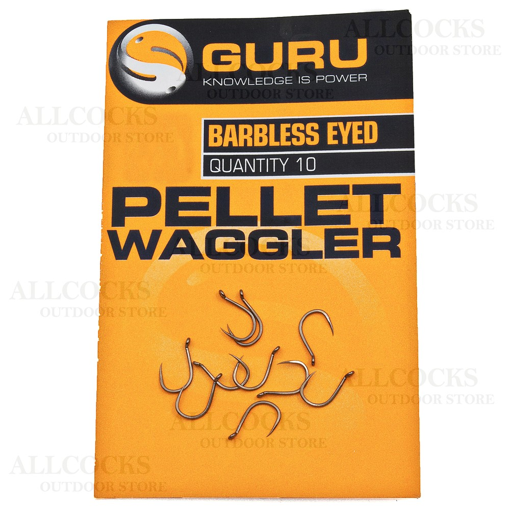 Guru Pellet Waggler Hooks