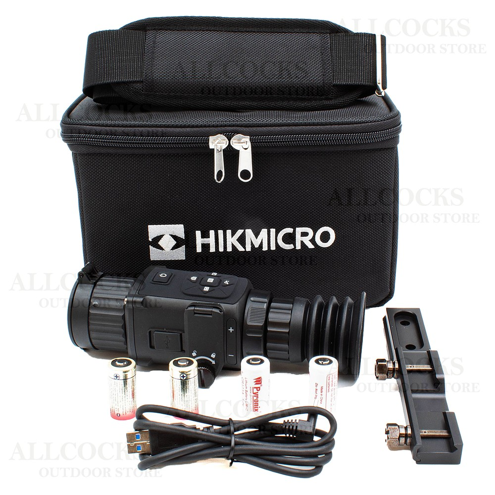 HIK Vision Micro Thunder Thermal Rifle Scope - 2.1x / 35mm Black