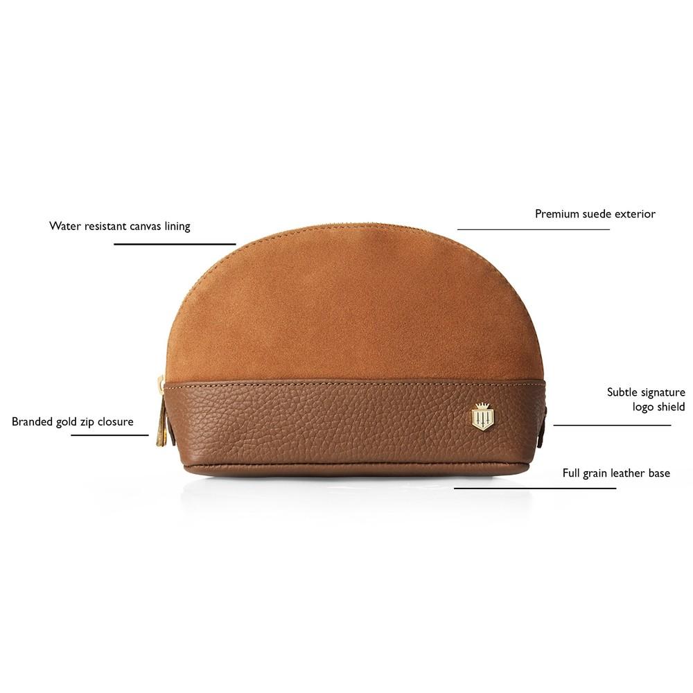 Fairfax & Favor Chatham Cosmetic Bag Tan