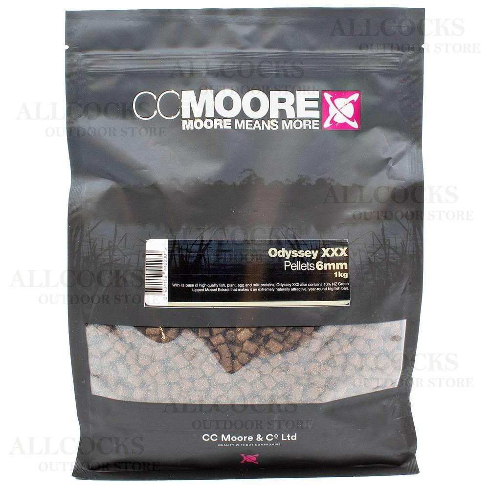 CC Moore Odyssey XXX Pellets - 1kg Brown