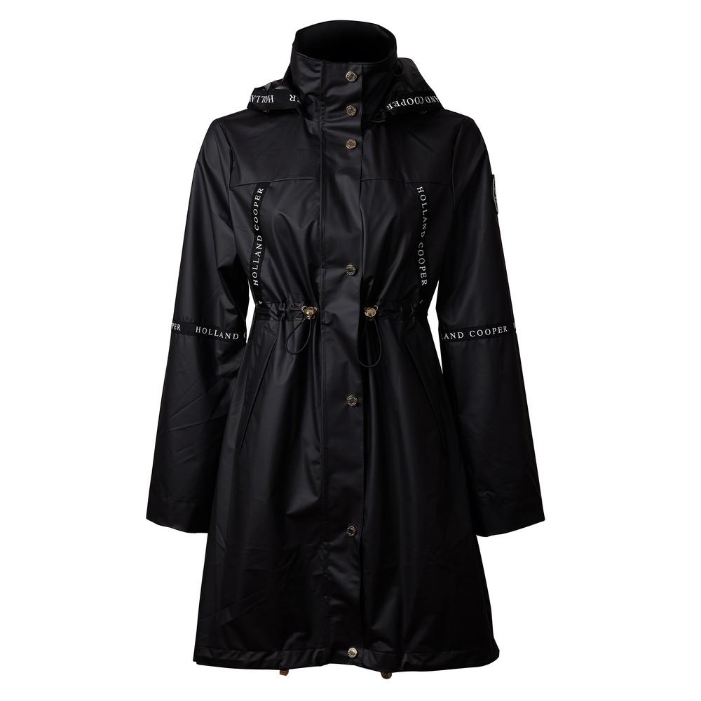Holland Cooper Rain Coat Matte Black