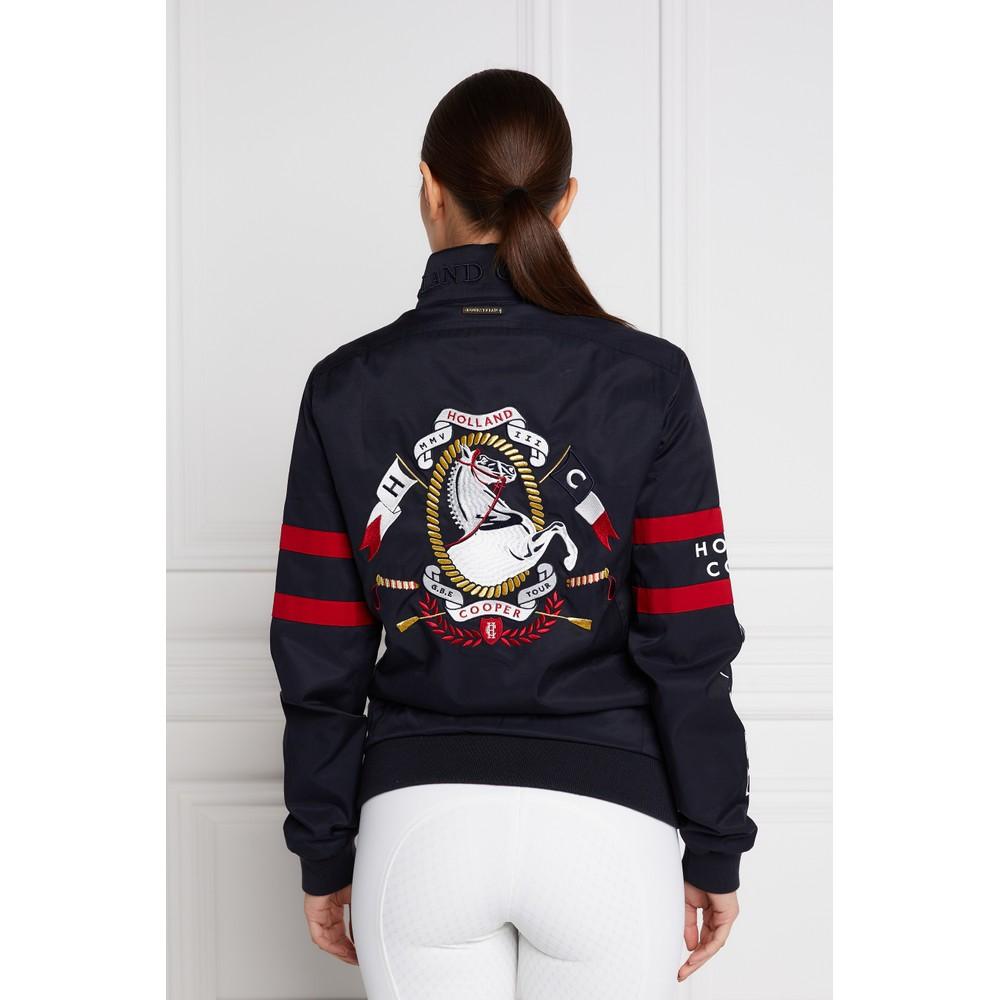 Holland Cooper Frankel Harrington Jacket Ink Navy
