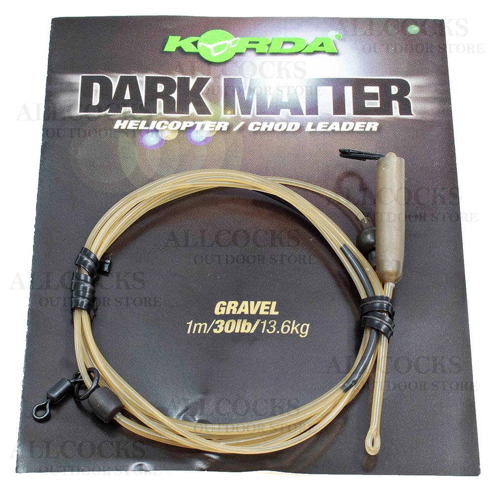 Korda Dark Matter Leader - Helicopter/Chod