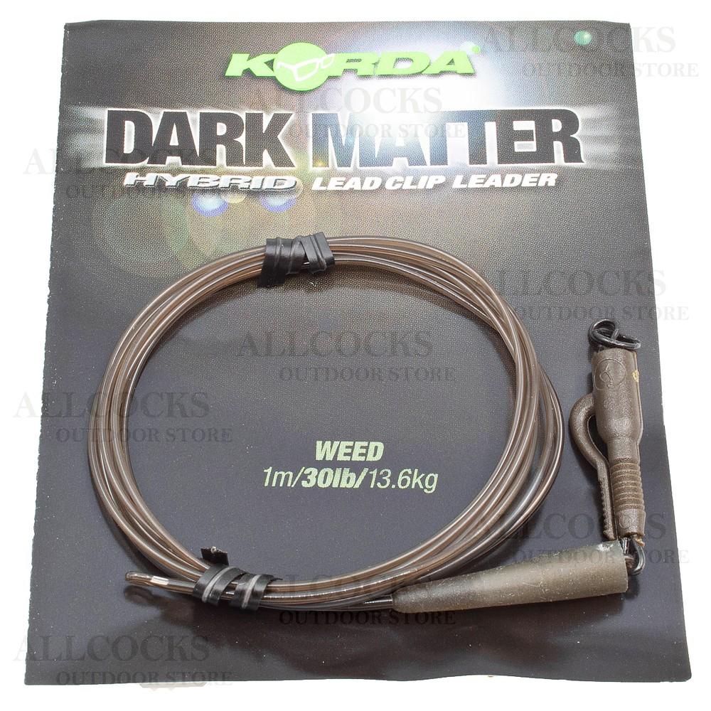 Korda Dark Matter Leader - Hybrid Clip