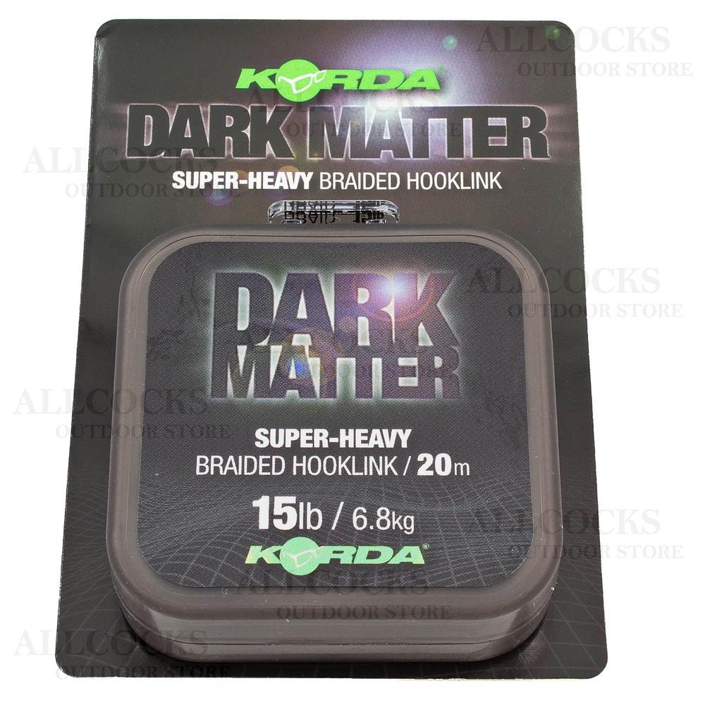 Korda Dark Matter Super-Heavy Braided Hooklink