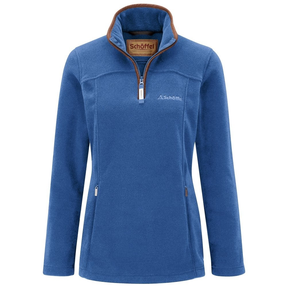 Schoffel Tilton 1/4 Zip Fleece Cobalt Blue