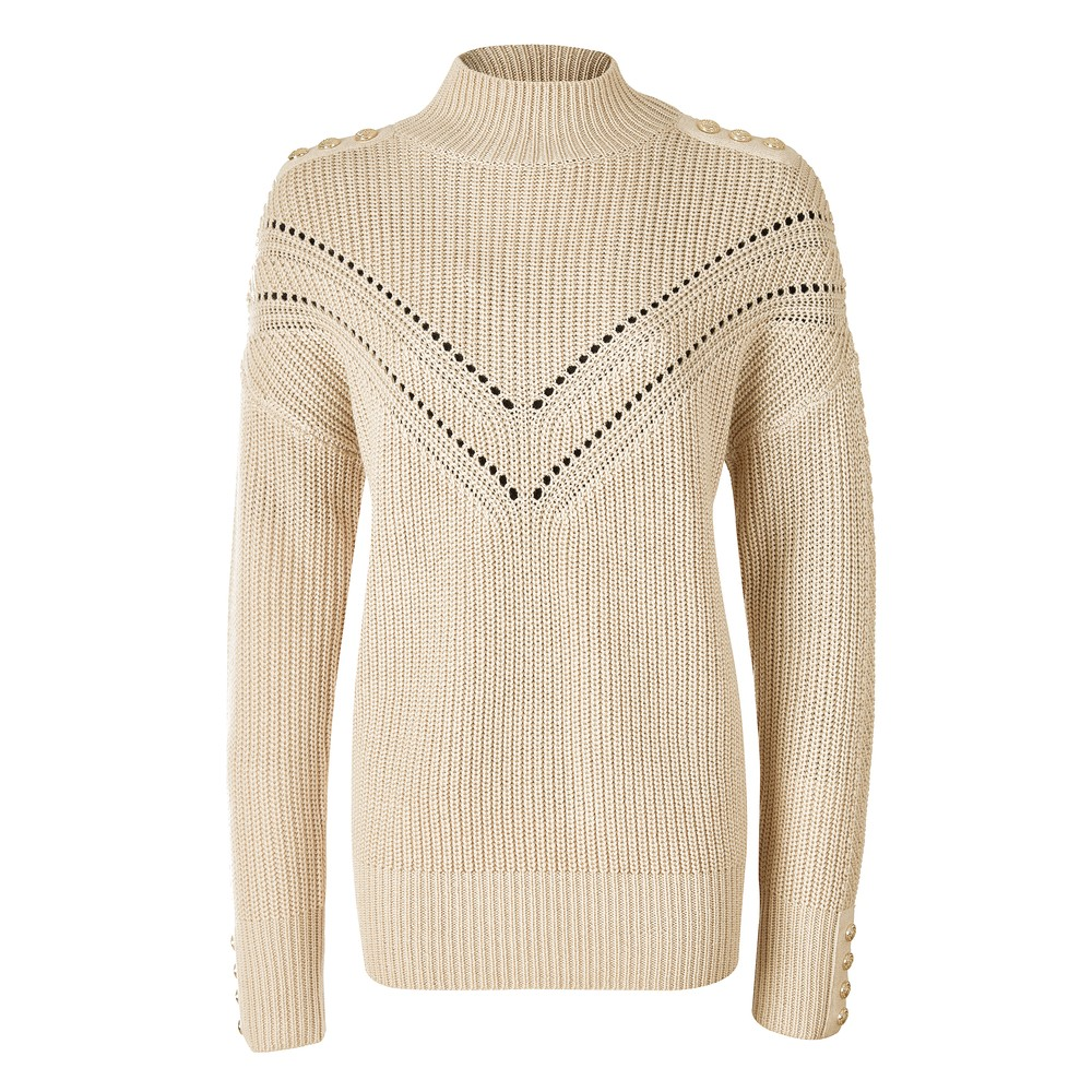 Holland Cooper Holland Cooper Chunky Pointelle Knit