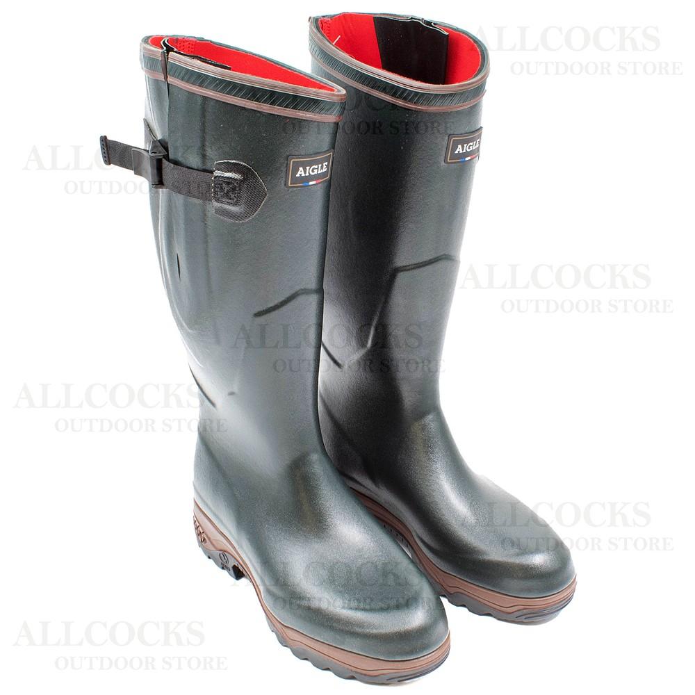 Aigle Parcours 2 ISO Wellington Boots Bronze