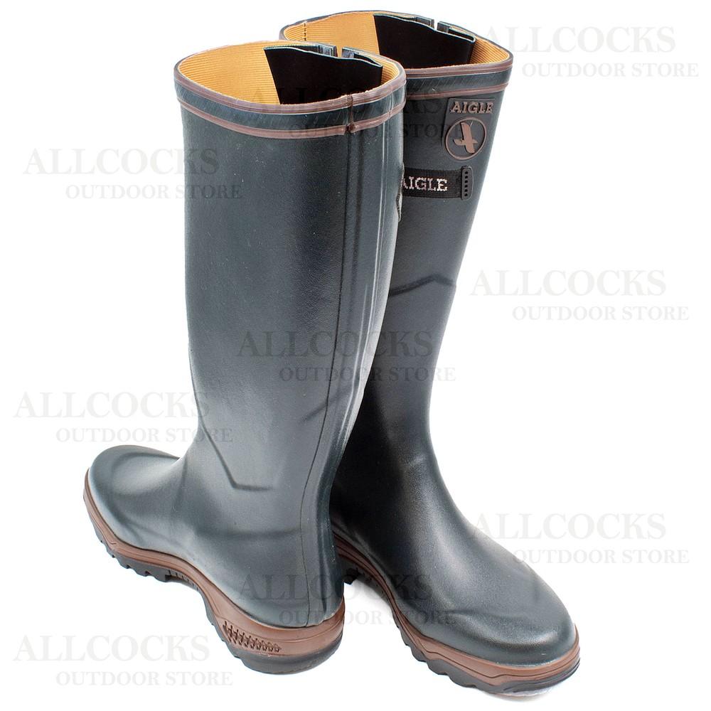 Aigle Parcours 2 Vario Wellington Boots Bronze
